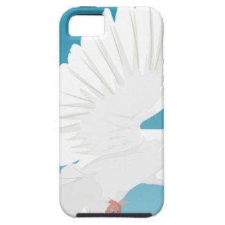 Capa Tough Para iPhone 5 Asa do animal da natureza da pena de pássaros do