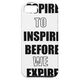 CAPA TOUGH PARA iPhone 5 ASPIRE INSPIRAR ANTES QUE NÓS EXPIREMOS