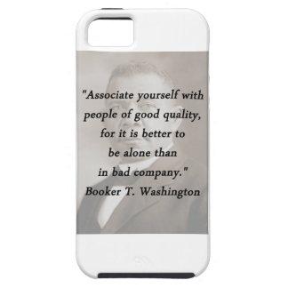Capa Tough Para iPhone 5 Associado você mesmo - Booker T Washington
