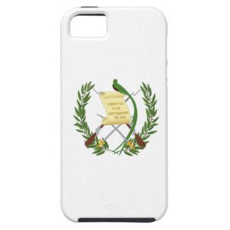 Capa Tough Para iPhone 5 Baixo custo! Bandeira de Guatemala