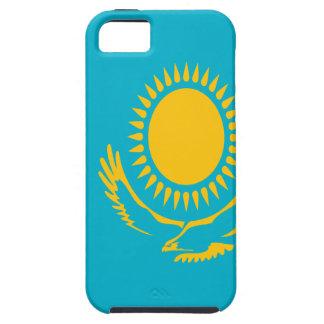 Capa Tough Para iPhone 5 Baixo custo! Bandeira de Kazakhstan