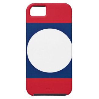 Capa Tough Para iPhone 5 Baixo custo! Bandeira de Laos
