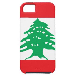 Capa Tough Para iPhone 5 Baixo custo! Bandeira de Líbano