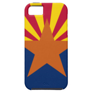 Capa Tough Para iPhone 5 Bandeira da arizona