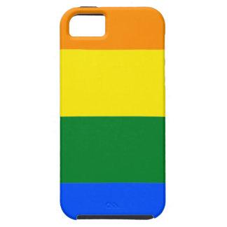 Capa Tough Para iPhone 5 Bandeira de Alabama LGBT