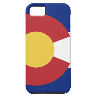 Capa Tough Para iPhone 5 Bandeira de Colorado