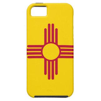 Capa Tough Para iPhone 5 Bandeira de New mexico