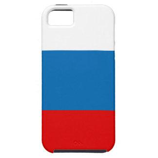Capa Tough Para iPhone 5 Bandeira de Rússia