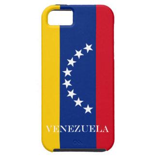 Capa Tough Para iPhone 5 Bandeira de Venezuela