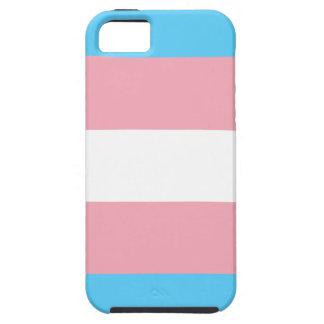 Capa Tough Para iPhone 5 Bandeira do orgulho do Transgender - arco-íris do