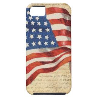 Capa Tough Para iPhone 5 Bandeira star spangled