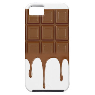 Capa Tough Para iPhone 5 Bar de chocolate derretido
