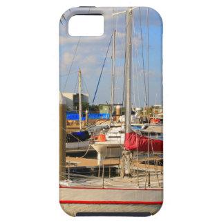Capa Tough Para iPhone 5 Barcos no porto, Darwin, Austrália