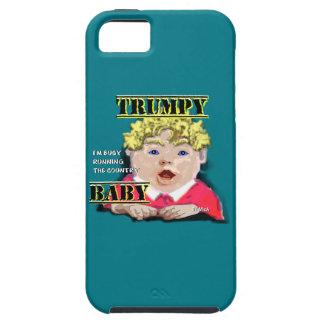 Capa Tough Para iPhone 5 Bebê de Trumpy - perito em software do iPhone +