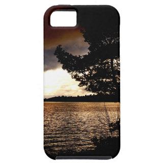 Capa Tough Para iPhone 5 Beira-rio de outubro