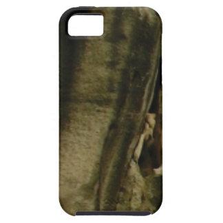 Capa Tough Para iPhone 5 borda cinzenta da cara da rocha