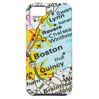 Capa Tough Para iPhone 5 Boston, Massachusetts
