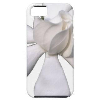 Capa Tough Para iPhone 5 Botão branco 201711g do Gardenia