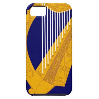 Capa Tough Para iPhone 5 Brasão de Ireland - emblema irlandês