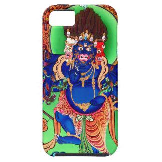 Capa Tough Para iPhone 5 Budismo tibetano Thangka budista Ucchusma