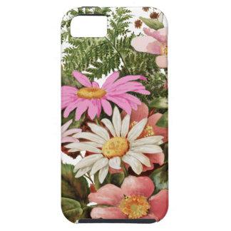 Capa Tough Para iPhone 5 buquê da flor