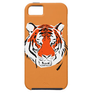 Capa Tough Para iPhone 5 Cabeça do tigre - cobrir do iPhone 5