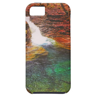Capa Tough Para iPhone 5 Cachoeira