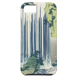 Capa Tough Para iPhone 5 Cachoeira azul