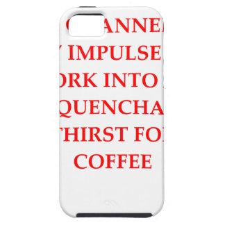 CAPA TOUGH PARA iPhone 5 CAFÉ