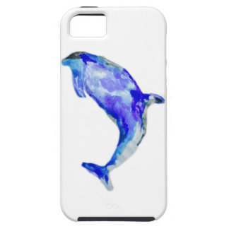 Capa Tough Para iPhone 5 Caixa azul do iPhone 5/5S/SE do golfinho