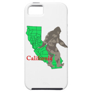 Capa Tough Para iPhone 5 Califórnia bigfoot