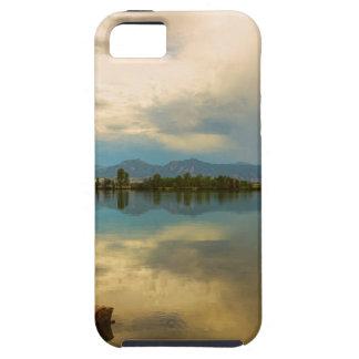 Capa Tough Para iPhone 5 Calma de Boulder County Colorado antes da