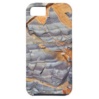 Capa Tough Para iPhone 5 Camadas naturais de ágata em um arenito