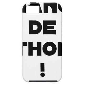 Capa Tough Para iPhone 5 CÂMBIO DE ATUM! - Jogos de palavras - François