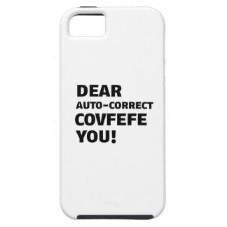 Capa Tough Para iPhone 5 Camiseta de Covfefe
