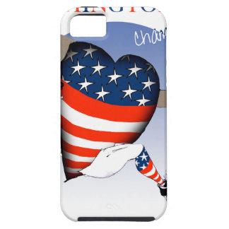 Capa Tough Para iPhone 5 Campeões do futebol do Washington DC, fernandes