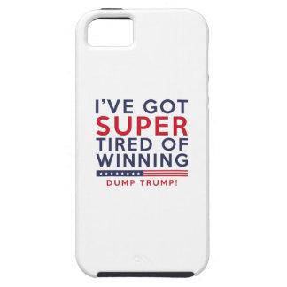 Capa Tough Para iPhone 5 Cansado do vencimento