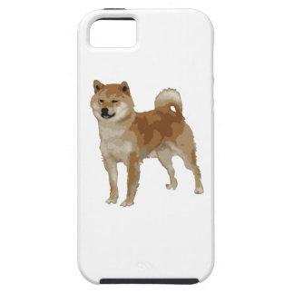 Capa Tough Para iPhone 5 Cão de Shiba Inu