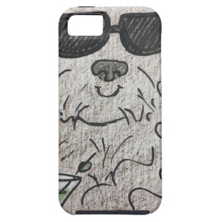 Capa Tough Para iPhone 5 Cão martini de Havanese
