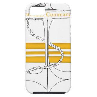 Capa Tough Para iPhone 5 capitão-de-corveta do ouro, fernandes tony
