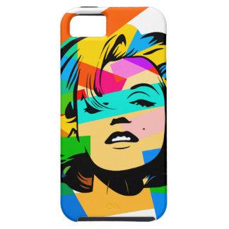 Capa Tough Para iPhone 5 Cara colorida