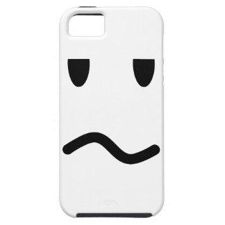 Capa Tough Para iPhone 5 Cara irritada