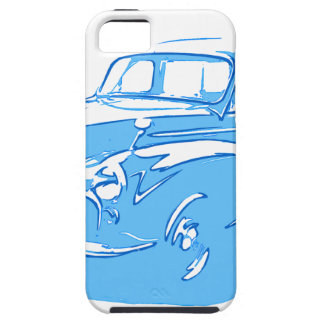 Capa Tough Para iPhone 5 carro clássico