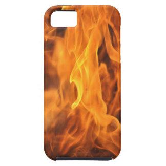 Capa Tough Para iPhone 5 Chamas - demasiado quentes a segurar