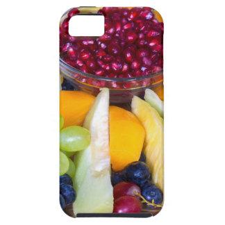 Capa Tough Para iPhone 5 Cheio de vidro da escala de várias frutas frescas