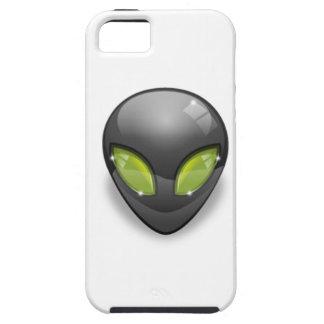 Capa Tough Para iPhone 5 Cinzas estrangeiras Design#2