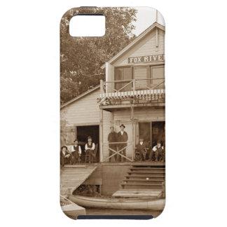 Capa Tough Para iPhone 5 clube do rio do Fox do clube dos homens dos 1880's