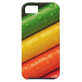 Capa Tough Para iPhone 5 cores brilhantes