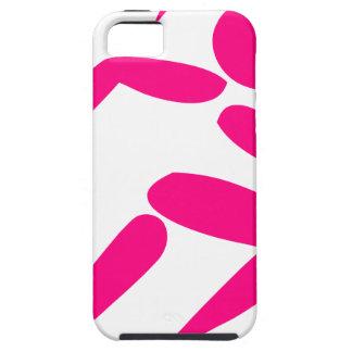 Capa Tough Para iPhone 5 Corredor cor-de-rosa da menina