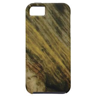 Capa Tough Para iPhone 5 cortes amarelos na rocha